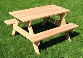 wood picnic table photos gallery of kids wooden picnic table plans treated wood picnic table kit wood picnic table