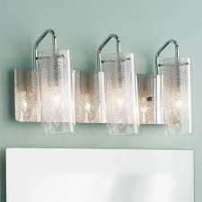 chic clear glass bathroom vanity lights crystal bathroom vanity light fixtures lighting 6 light crystal