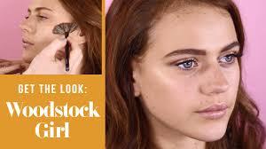 woodstock beauty look 70s inspired festival makeup tutorial you