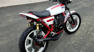 1976 yamaha rd400 full on cafe racer with dg pipes