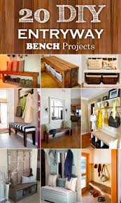 probably perfect great unique entryway benches photos