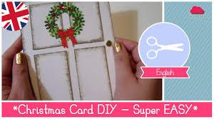 Diy Christmas Cards Tutorial Christmas Card Diy Idea Super Easy And Stunning Result