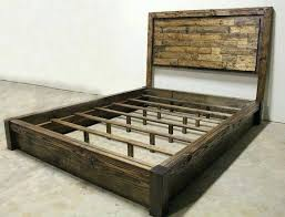 rustic king bed – d-carly
