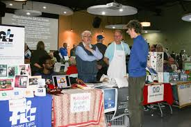 photo provided by the ithaca alternative gift faira per talks with representatives from local non