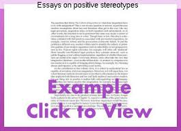 essays on stereotypes stereotypes essays essays on positive stereotypes homework academic writing service