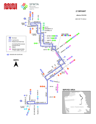 27 bryant bus route sf muni sf bay transit Map Bus Route San Francisco sf muni map san francisco muni bus route map