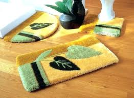 beautiful bathroom rugs sets or 3 piece bathroom rug sets s s 3 piece bath rug set