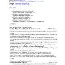 Vcu Resume Template Vcu Resume Resume For Study 2