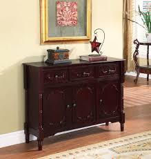 amazoncom  king's brand r wood console sideboard table with