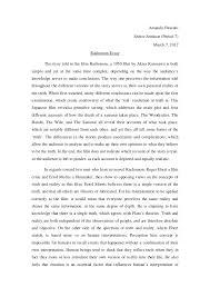 rashomon essay rashomon essay amanda okazaki
