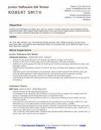 Software Qa Tester Resume Samples Qwikresume