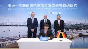 Maybe you would like to learn more about one of these? Audi Baut Mit Partner Faw Elektroauto Fabrik In China Heise Autos
