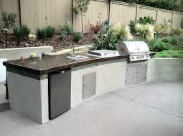 Countertop For Outdoor Kitchen Designing Outdoor Kitchen Countertops Kitchen Decoration