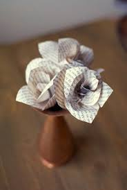 Paper Crafted Flowers 20 Diy Paper Flower Tutorials How To Make Paper Flowers