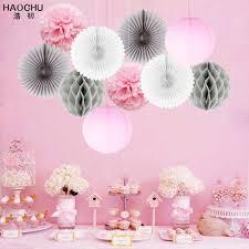 <b>10pcs</b>/lot Mix Paper Hanging Ball Craft Decor Set Round China ...