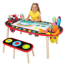 awesome red black color wood unique design craft table kids painting play at room with home awesome modern kids desks 2 unique kids