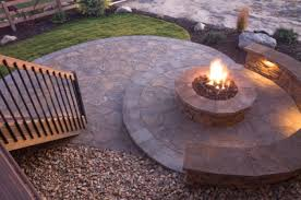 how to build a gas fire pit in your backyard