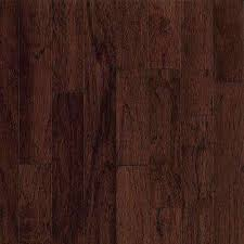 Bruce Hickory Dark Wood Samples Wood Flooring The Home Depot
