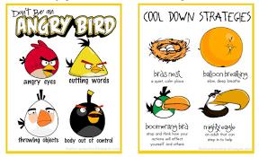 Angry Birds Behavior Chart Buy Online Anger Management Behavior
