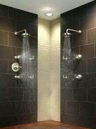 multiple shower heads multiple jet shower multiple shower head systems shower with jets on the walls