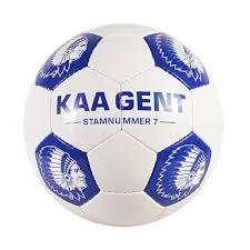 Blauw/witte KAA Gent voetbal - KAA Gent webshop