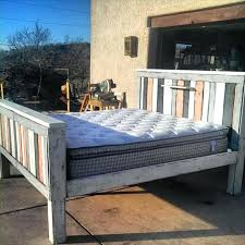 making a bed frame this collection of pallet bed ideas which are here to get you making a bed frame