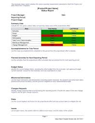 Project Status Slide Project Status Summary Template Grupofive Co