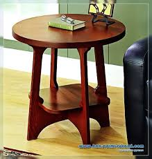 how to make a wooden round table with your own hands