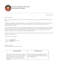Boy Scout Letter Of Recommendation For Eagle Scout Bsa Letter Of Recommendation Zlatan Fontanacountryinn Com
