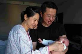 Asian culture on birthing process