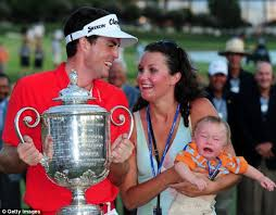 almost happy families keegan bradley and his sister madison are delighted at his amazing win