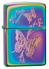 <b>Зажигалка Zippo Butterfly</b> (28442) разноцветная