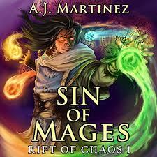 Sin of Mages Livre audio | A.J. Martinez | Audible.fr