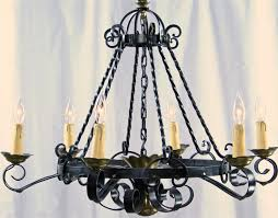 large black wrought iron chandeliers crystal home interior