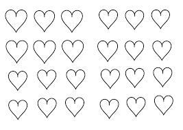Coloriage De Coeur Coloriage Petits Coeurs Coloriage Petit Coeur Simple Avec Prenom En Ligne Coe L