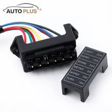 v dc fuse box online shopping the world largest v dc fuse box 6 way car fuse box circuit car trailer auto blade fuse box block holder dc 12v