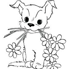 Coloring Sheets Dogs Coloring Pages Of Dogs And Cats Printable Free