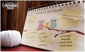 Guest Book Alternative For A Nautical Baby Shower Message In A Baby Shower Message Book