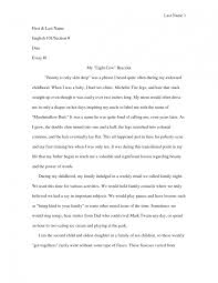 students narrative essays example of good narrative essay