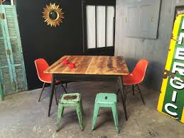 xavier pauchard french industrial dining room furniture. Vintage Tolix. Photo © 5 Francs · Round Kub Table By Xavier Pauchard French Industrial Dining Room Furniture G