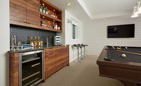 modern basement bar ideas. Delighful Ideas Long U0026 Lean In Modern Basement Bar Ideas A