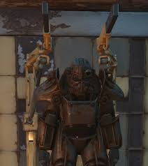 Power Armor Display Stand Fallout 100 Is It Possible To Attach Power Armor To The Station 89