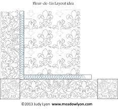 Fleur-de-Lis PDF 10″ Interlocking Pantograph | MeadowLyon Designs & Fleur-de-Lis ... Adamdwight.com