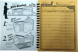 Bill Organizer Stunning BillButler Monthly Household Bill Organizer BudgetLope WantItAll