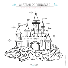 Coloriage Chateau Princesse 71 Images Free Coloring Pages Of