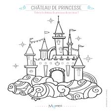 Images De Dessin Fiona Coloriage Chateau Princesse Chateau