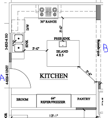 Extraordinary Kitchen Floor Plans Kitchen Island Design Ideas 90 For Your  Home Design Ideas with Kitchen Floor Plans Kitchen Island Design Ideas