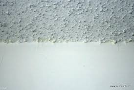 does popcorn ceiling have asbestos cost of popcorn ceiling removal what does asbestos popcorn ceiling look