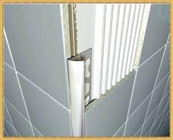wall edge trim metal bathroom tile factory plastic inside tiles edging corner um transition metal grey