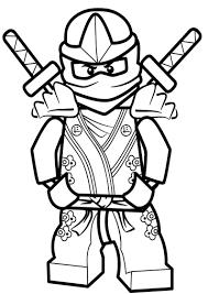 Lego Ninjago Ninja Lloyd Coloring Pages Sketch Coloring Page Lloyd